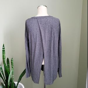Wilfred Grey Long Sleeve Top Sz Small